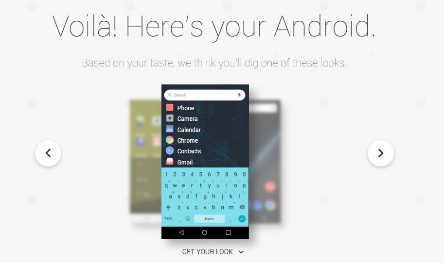 Google: My Android Seite schlägt euch Wallpaper, Icons und mehr vor 3