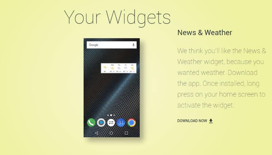 Google: My Android Seite schlägt euch Wallpaper, Icons und mehr vor 5