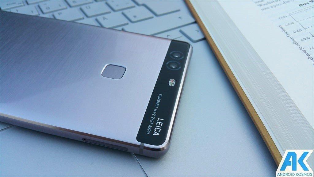Das Huawei P9 Plus bekommt nun ebenfalls das Nougat-Update