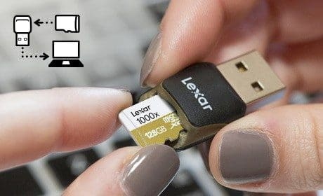 Lexar kündigt neue 256 GB High-Professional 1000x microSDXC UHS-II (U3)-Karte an 3
