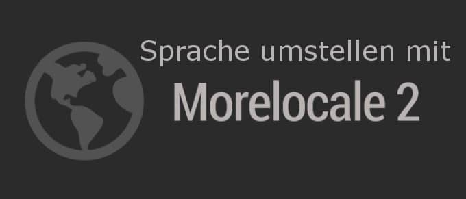 Anleitung: Android Sprache umstellen mit MoreLocale 2 ohne Root 3