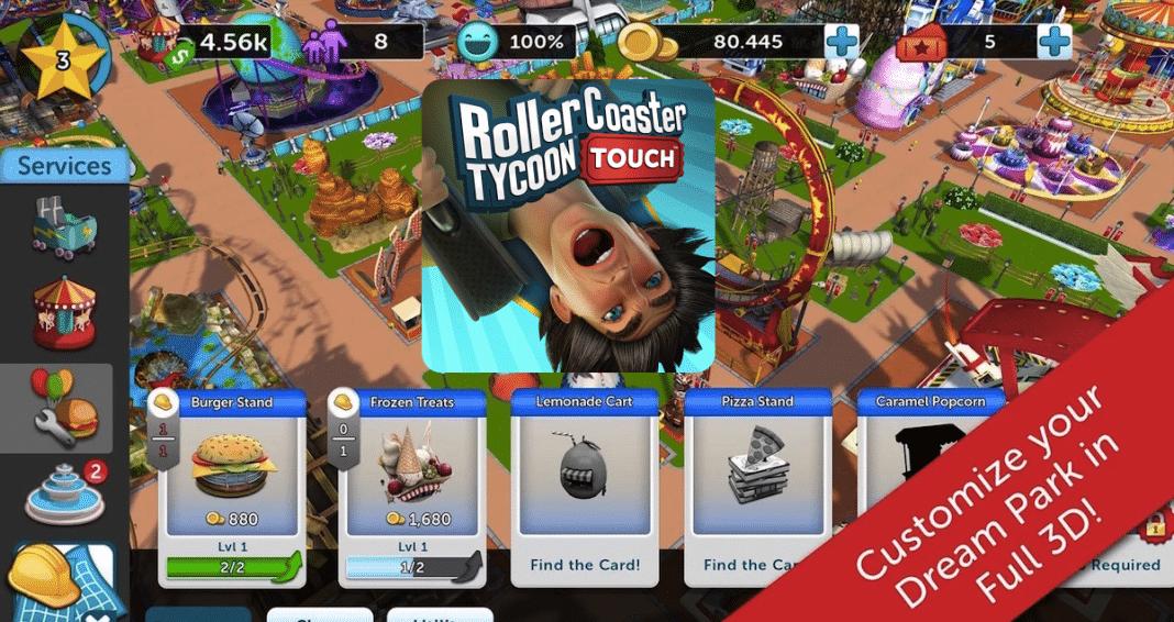 RollerCoaster Tycoon Touch: Atari veröffentlicht den Spiele-Klassiker für Android und iOS 2