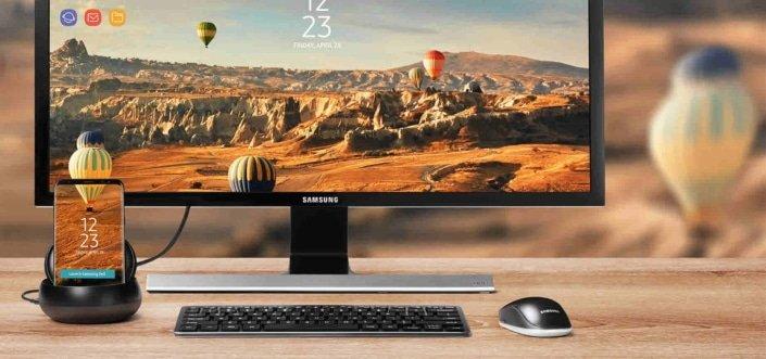 Samsung DeX erlaubt einen Blick in die Zukunft des mobilen Arbeitens 6