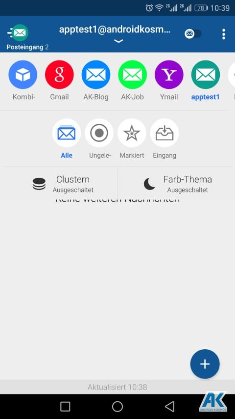 TypeApp Email: einer der besten E-Mail-Client App für Android im Test 70