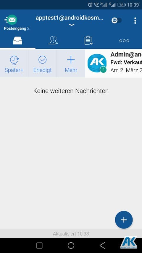 TypeApp Email: einer der besten E-Mail-Client App für Android im Test 56