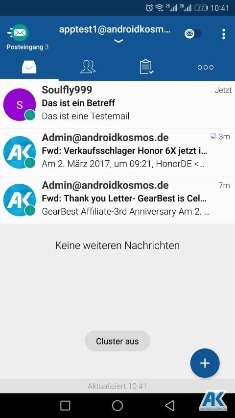 TypeApp Email: einer der besten E-Mail-Client App für Android im Test 72