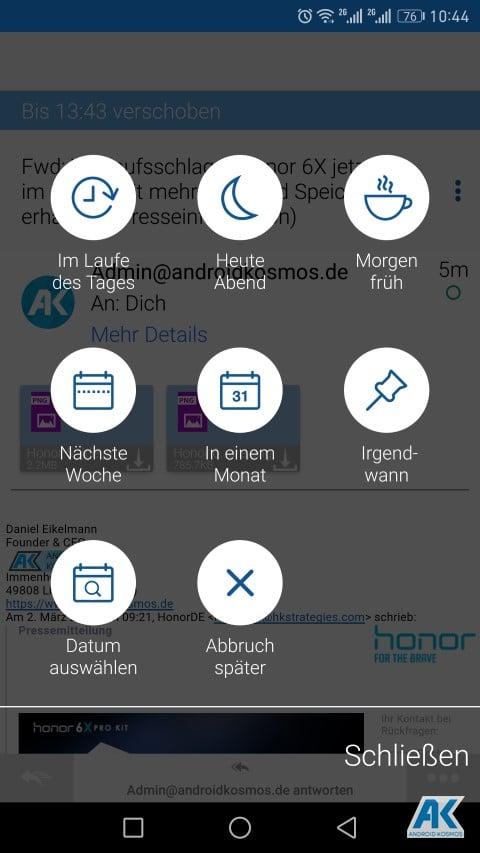TypeApp Email: einer der besten E-Mail-Client App für Android im Test 67