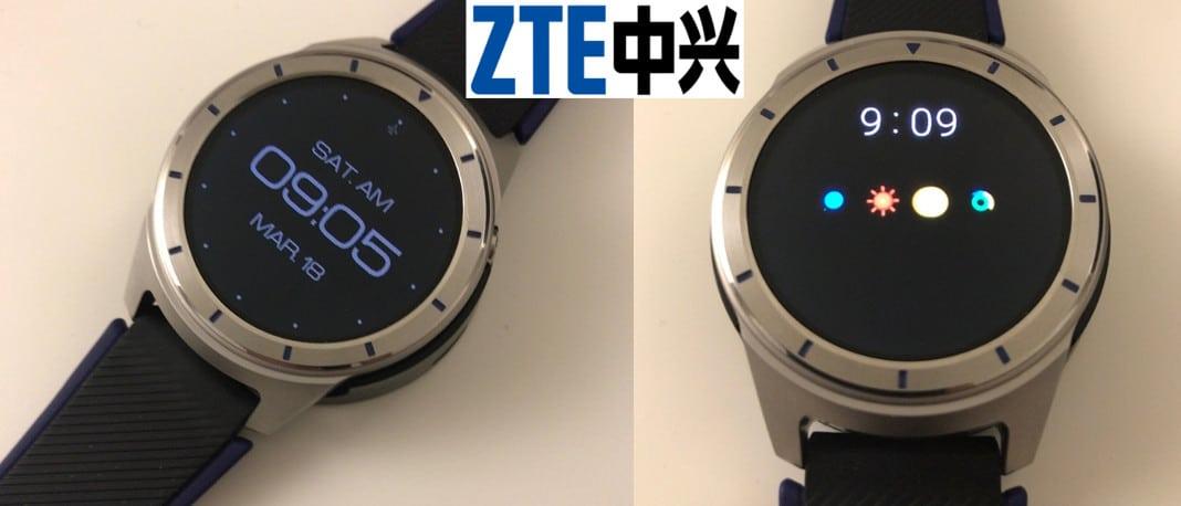 ZTE Quartz: erste Fotos und technische Daten der Smartwatch aufgetaucht 1