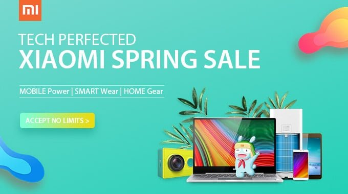 Angebot: Gearbest hat aktuell viele Xiaomi Produkte im Frühlings-Sale 1