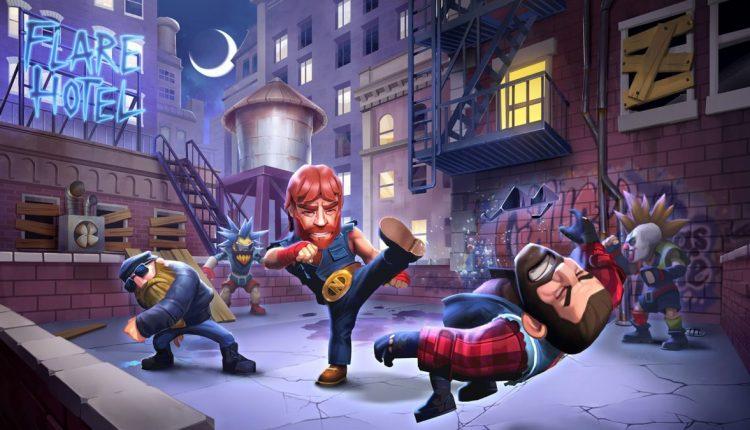 Nonstop Chuck Norris: neues Action Spiel für Android & iOS angekündigt 1