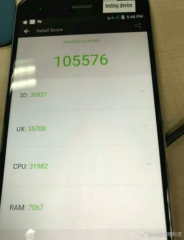 Snapdragon 660: Erstes AnTuTu Benchmark des Mittelklasse Prozessor aufgetaucht 1