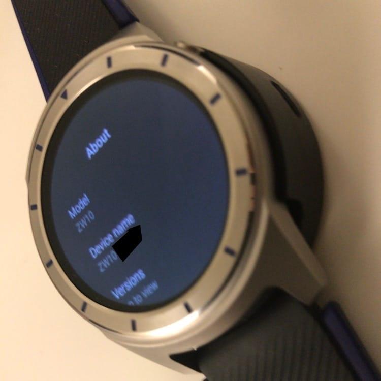 ZTE Quartz: erste Fotos und technische Daten der Smartwatch aufgetaucht 6