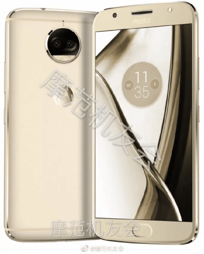 Alleged render of the Moto X 2017