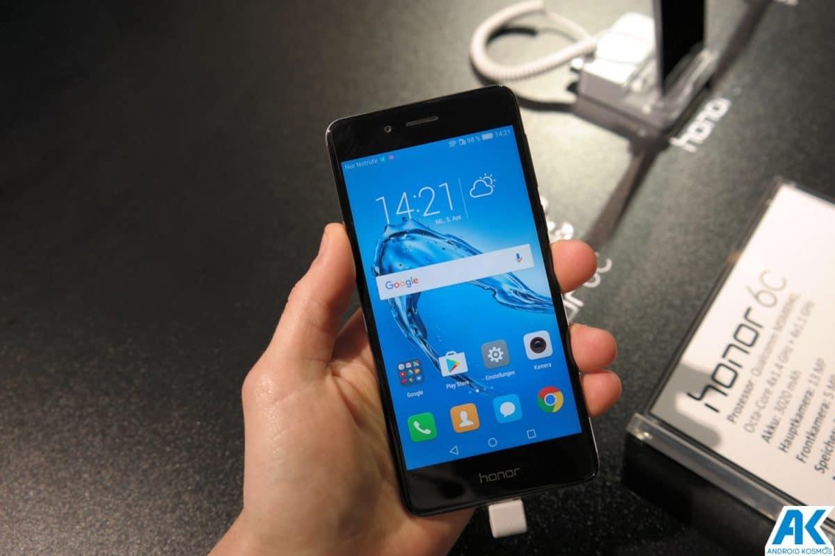 Honor 6C: günstiges Einsteiger-Smartphone offiziell vorgestellt [inklusive Hands-On Bilder] 11