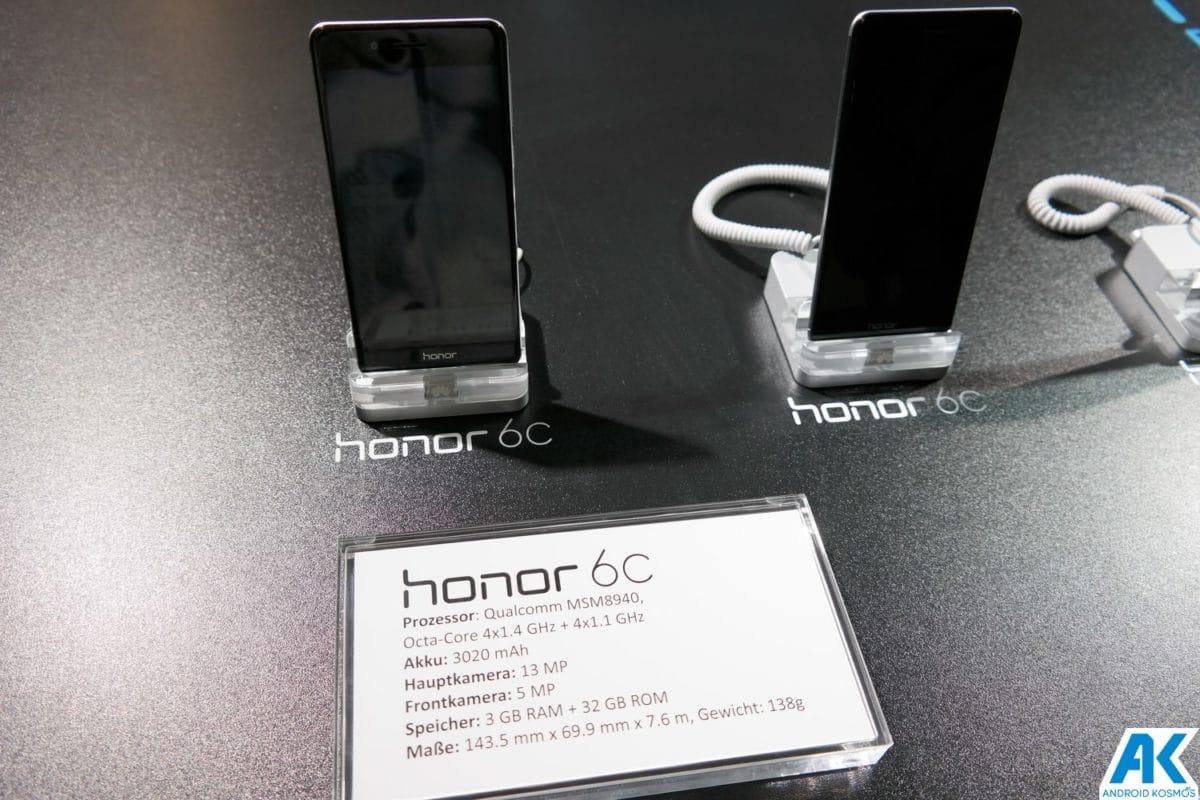 Honor 6C: günstiges Einsteiger-Smartphone offiziell vorgestellt [inklusive Hands-On Bilder] 12