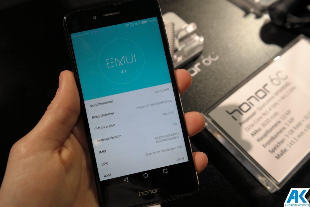 Honor 6C: günstiges Einsteiger-Smartphone offiziell vorgestellt [inklusive Hands-On Bilder] 14