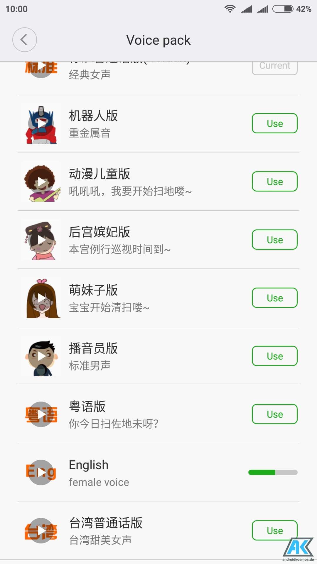 Anleitung: Xiaomi Mi Robot Vacuum Sprache auf Englisch umstellen 5