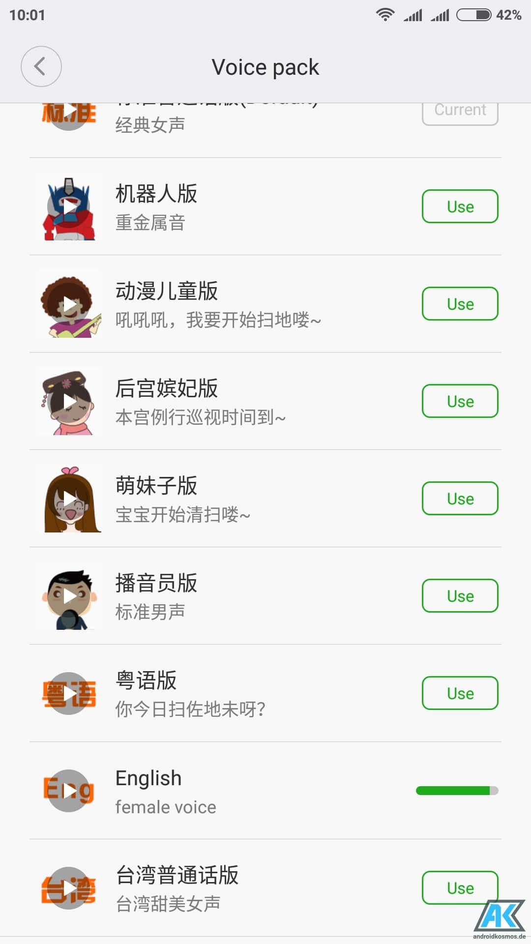 Anleitung: Xiaomi Mi Robot Vacuum Sprache auf Englisch umstellen 6