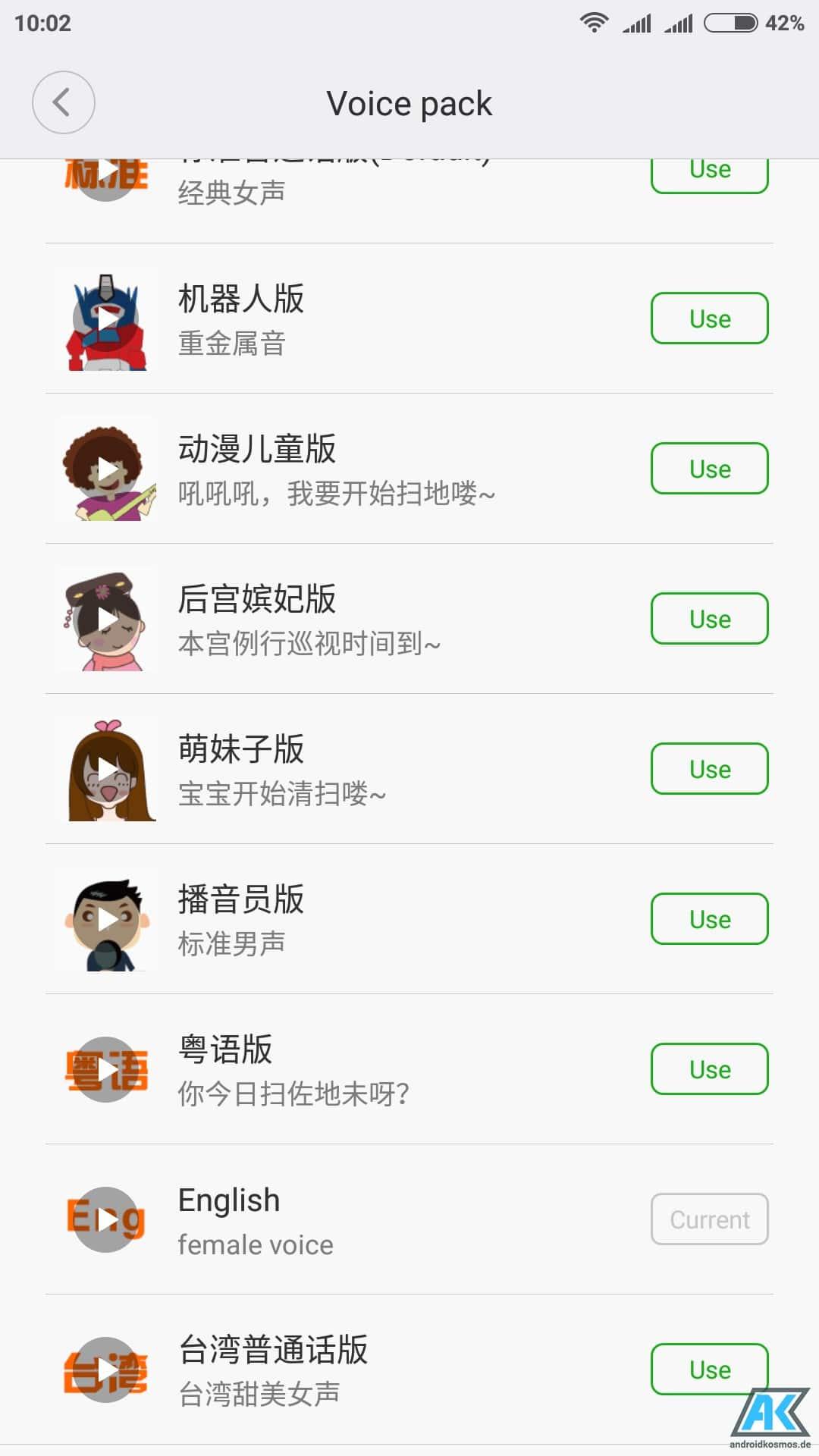 Anleitung: Xiaomi Mi Robot Vacuum Sprache auf Englisch umstellen 7