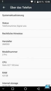 UmiDigi Z Pro Test: Smartphone nun auch mit Dual-Kamera 133