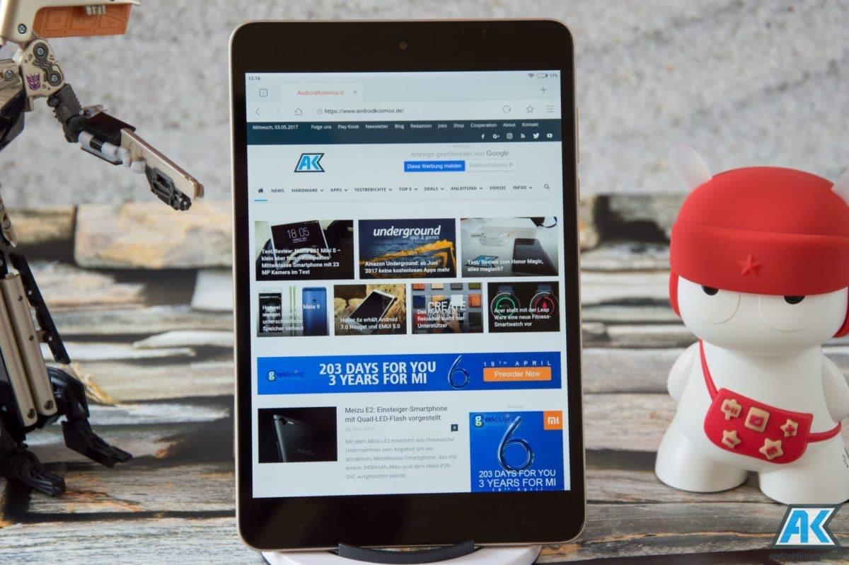 Xiaomi Mi Pad 3 Test: Das dritte Android Tablet der Serie 25