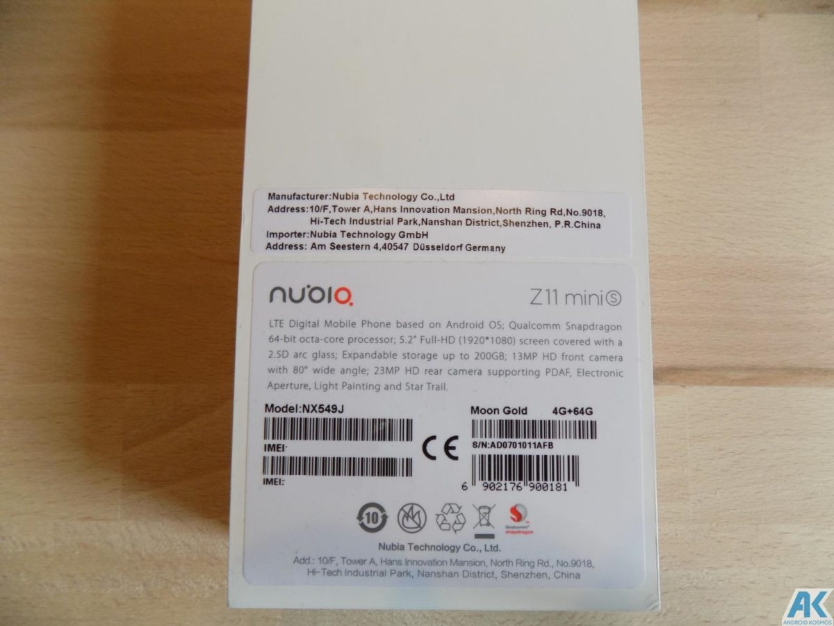 Nubia Z11 Mini S Test: kompaktes Mittelklasse Smartphone 5