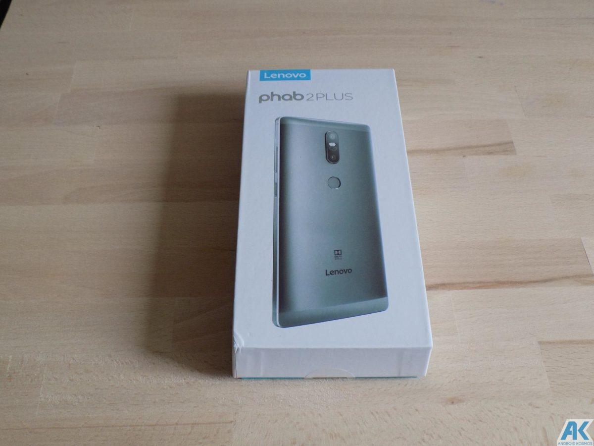 Lenovo Phab2 Plus Test: Eigenes Monster Phablet mit großen Akku 2