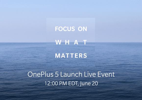 OnePlus5 Vorstellung