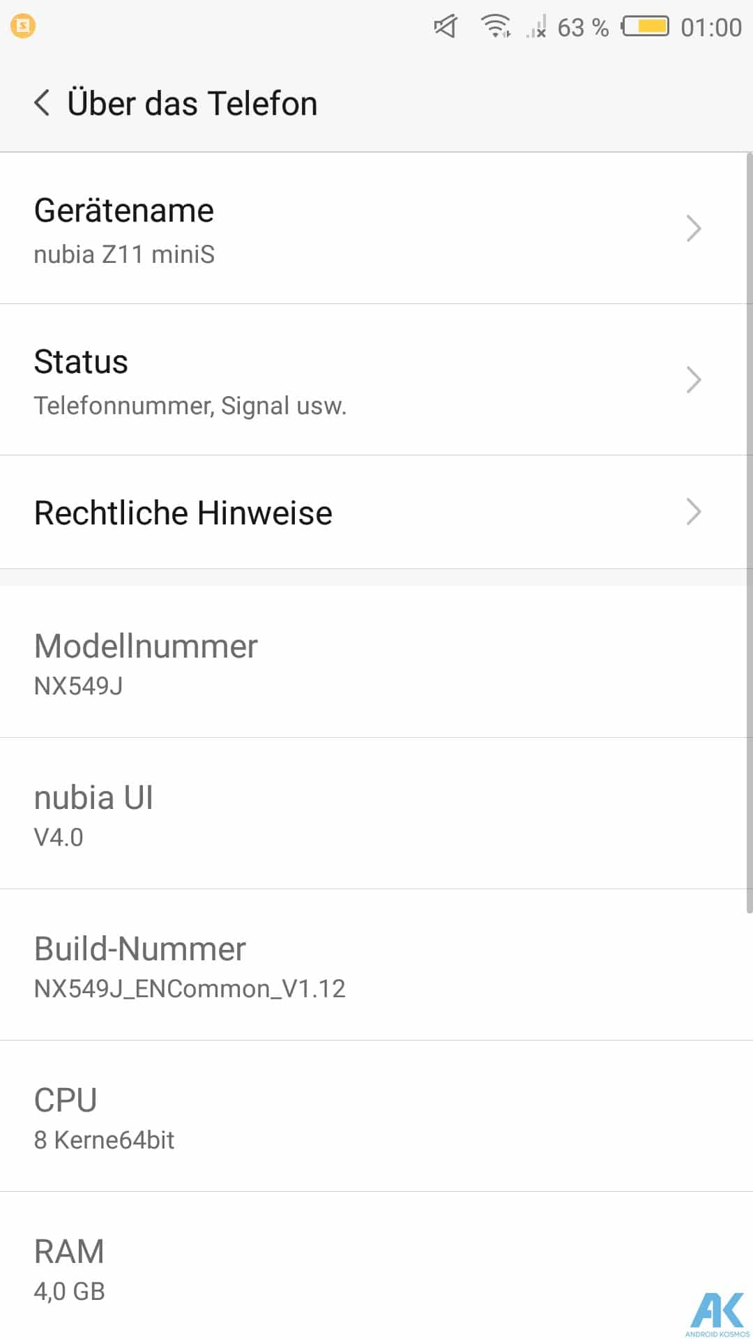 Nubia Z11 Mini S Test: kompaktes Mittelklasse Smartphone 37