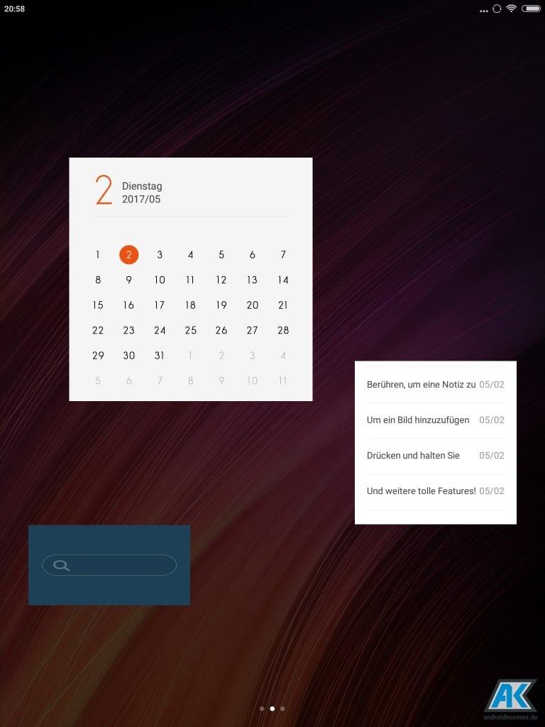 Xiaomi Mi Pad 3 Test: Das dritte Android Tablet der Serie 40