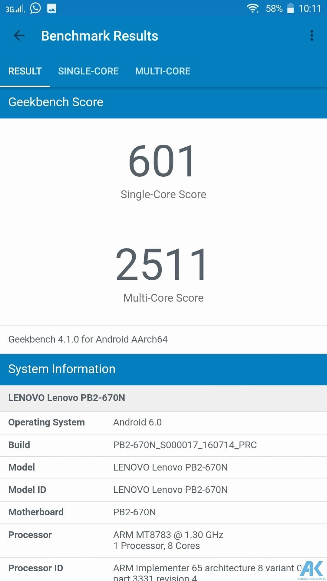 Lenovo Phab2 Plus Test: Eigenes Monster Phablet mit großen Akku 80