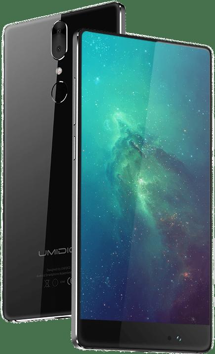 Auch Umidigi plant ein Smartphone im Mi Mix-Design 1