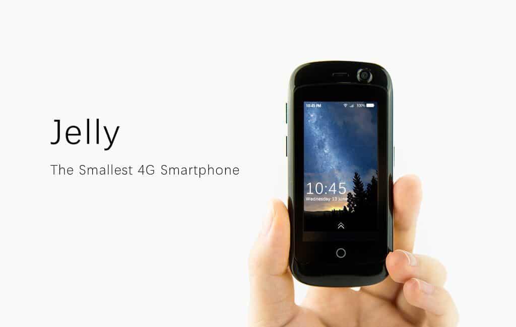 Jelly: Das kleinste Smartphone der Welt mit aktuellem Android 1
