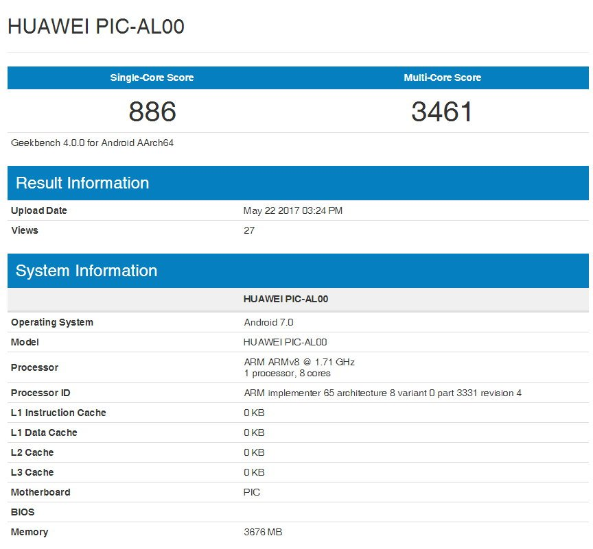 Huawei Nova 2 und Nova 2 Plus: erste Bilder, Benchmarks und technische Daten 3