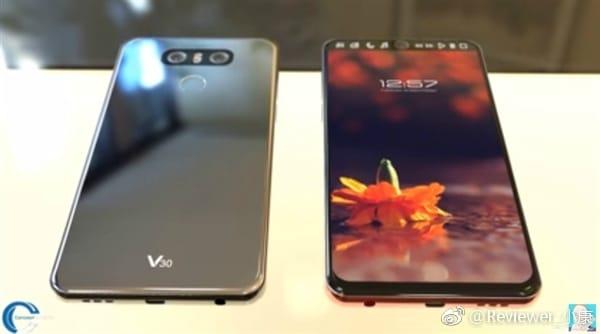 LG V30: erste Fotos zeigen das kommende Smartphone wieder mit zweiten Display 3