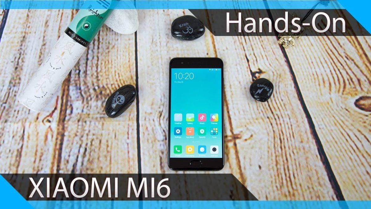 Das Xiaomi Mi6 im ersten Unboxing und Hands-On Video 1