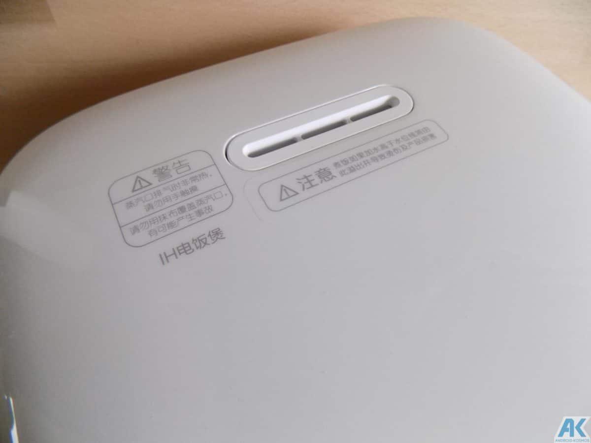 Xiaomi Smart Electric Rice Cooker Test: Was kann der Reiskocher 8