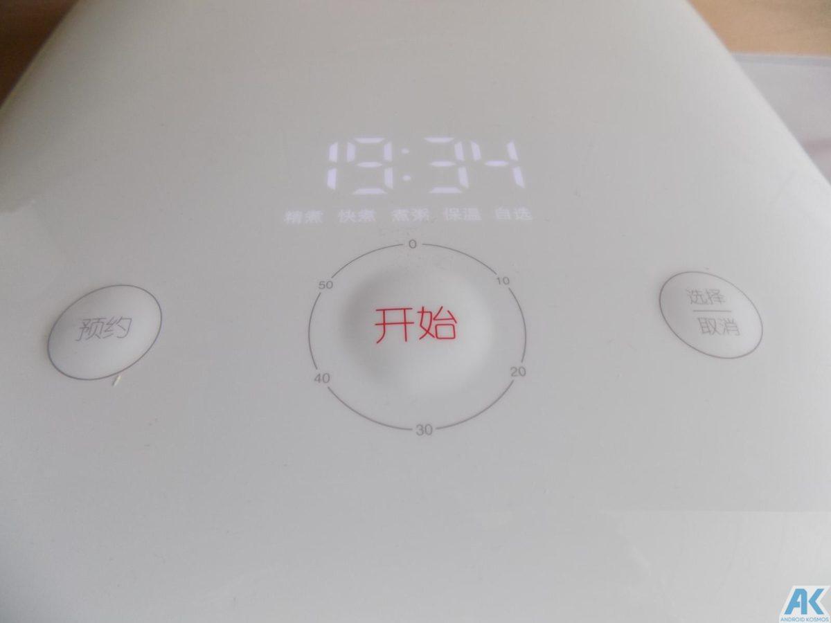 Xiaomi Smart Electric Rice Cooker Test: Was kann der Reiskocher 14