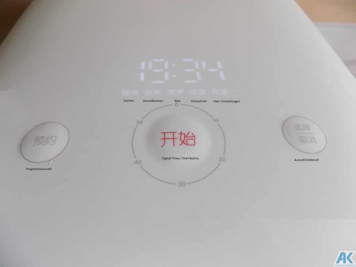 Xiaomi Smart Electric Rice Cooker Test: Was kann der Reiskocher 15