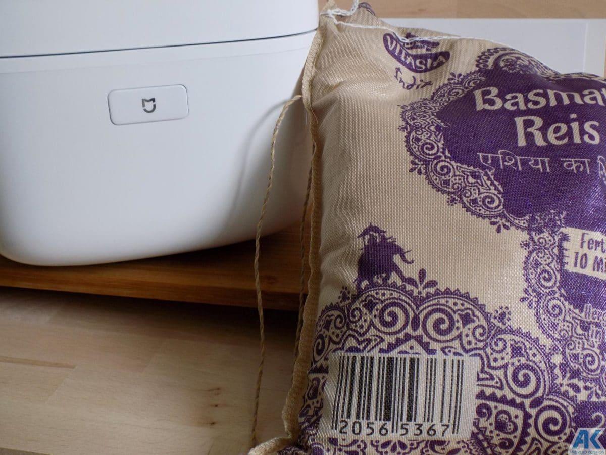 Xiaomi Smart Electric Rice Cooker Test: Was kann der Reiskocher 21