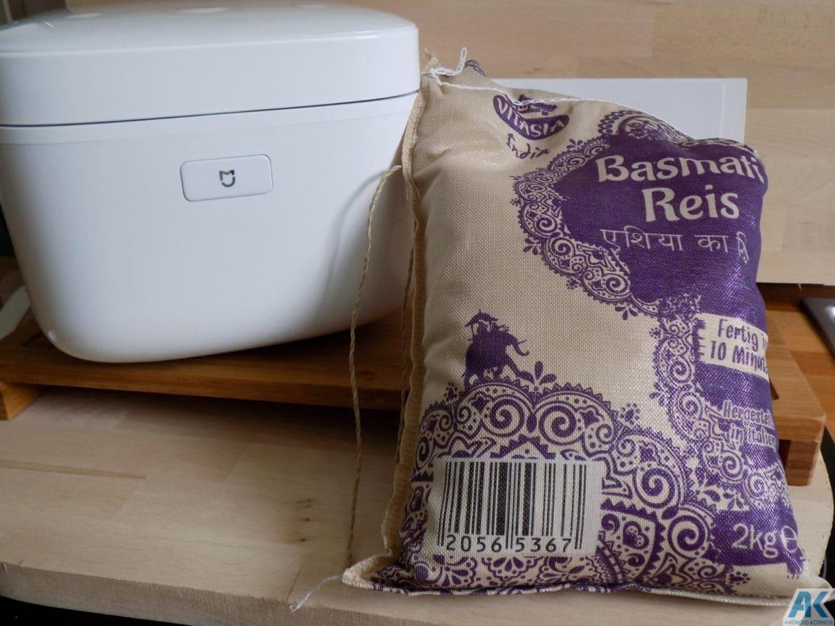 Xiaomi Smart Electric Rice Cooker Test: Was kann der Reiskocher 22