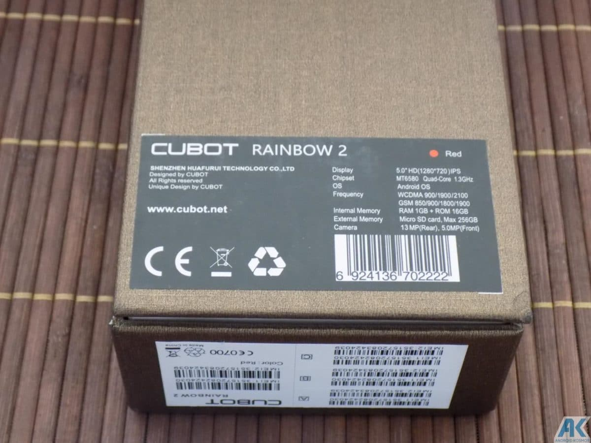 Cubot Rainbow 2 Test: Low-Budget Chinahandy für 75€ 4