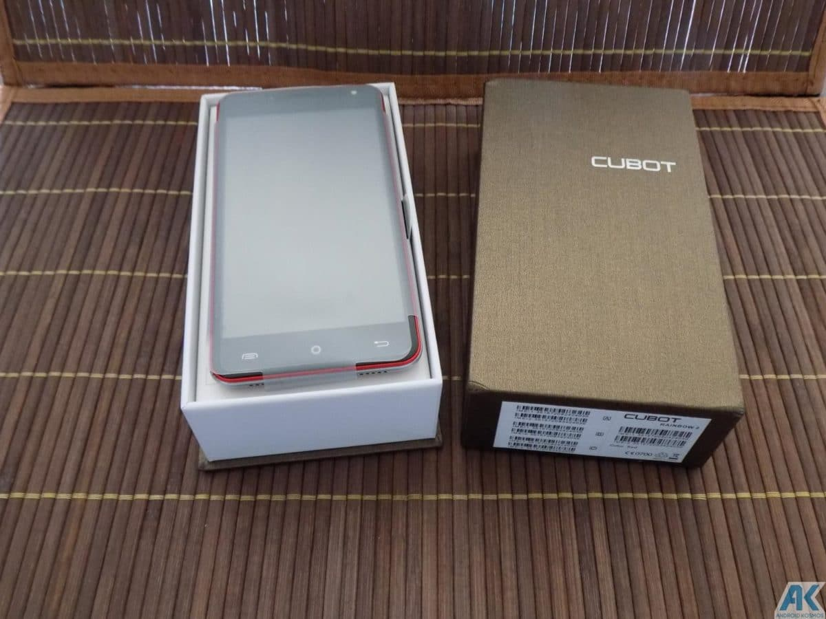 Cubot Rainbow 2 Test: Low-Budget Chinahandy für 75€ 5