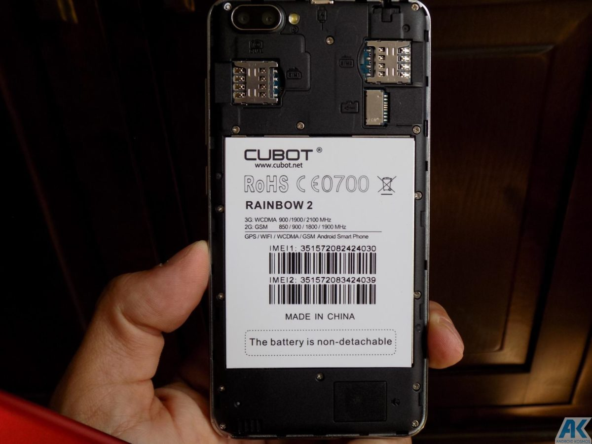 Cubot Rainbow 2 Test: Low-Budget Chinahandy für 75€ 10