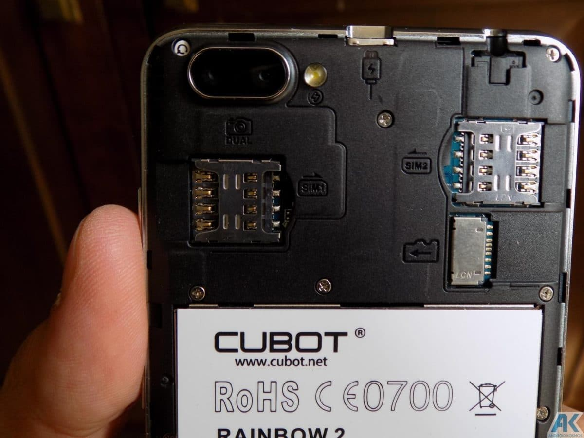 Cubot Rainbow 2 Test: Low-Budget Chinahandy für 75€ 11