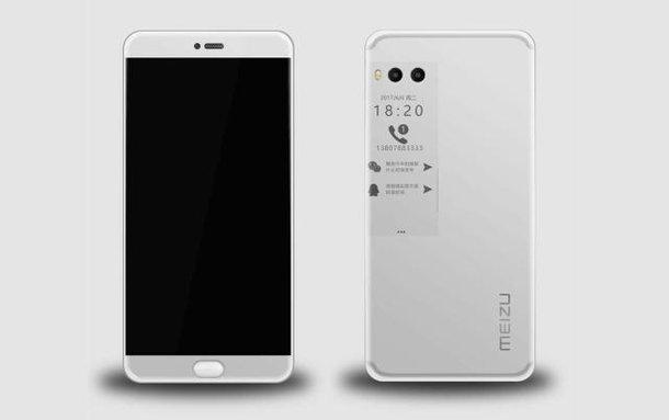 Das Meizu Pro 7 könnte ein E-Ink-Display auf der Rückseite haben 2