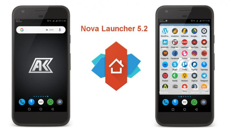 Nova Launcher 5.2 App mit Android O Style und Badges ist raus 1