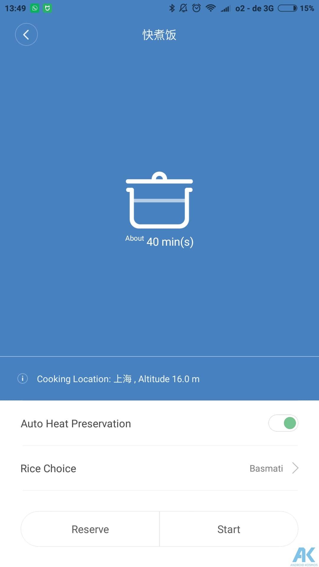 Xiaomi Smart Electric Rice Cooker Test: Was kann der Reiskocher 27