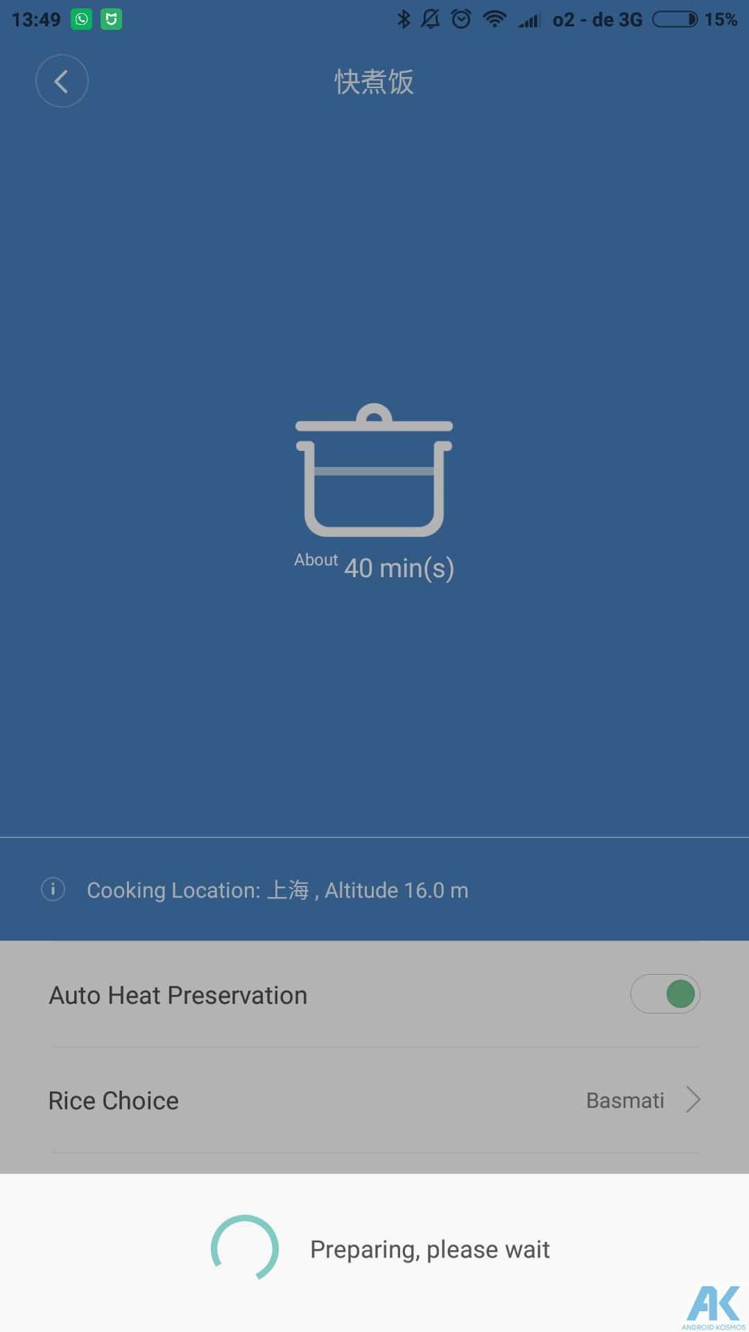 Xiaomi Smart Electric Rice Cooker Test: Was kann der Reiskocher 28