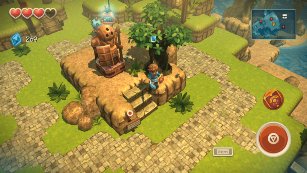 App-Review: Oceanhorn - Monster of Uncharted Seas: Gut kopiert 2